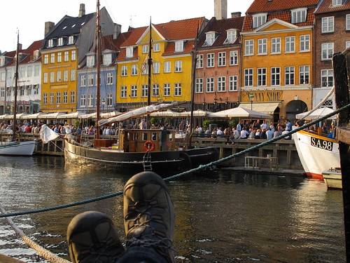 Copenhagen, The New Harbor, Denmark