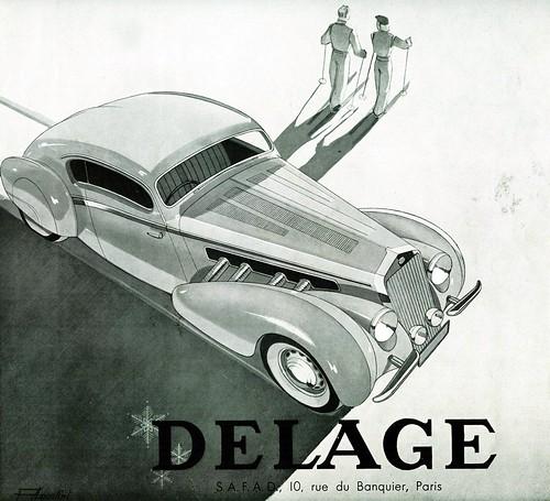 1939 Delage D8-120, Letourneur & Marchand
