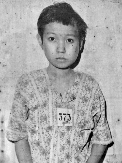 Victim 373, S-21 Tuol Sleng, before being tortured and murdered by the Khmer Rouge 1975-79