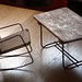 miniature desk and chair
