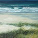 White sands of Barra by Artist Jim Wright