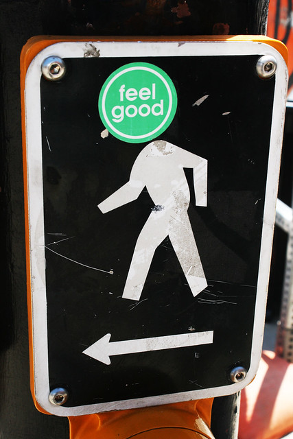 Keep walking and feel good