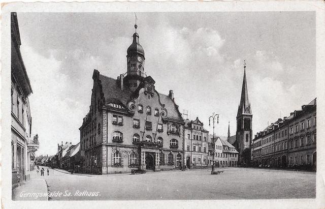 GERINGSWALDE SA. Rathaus   ~1900