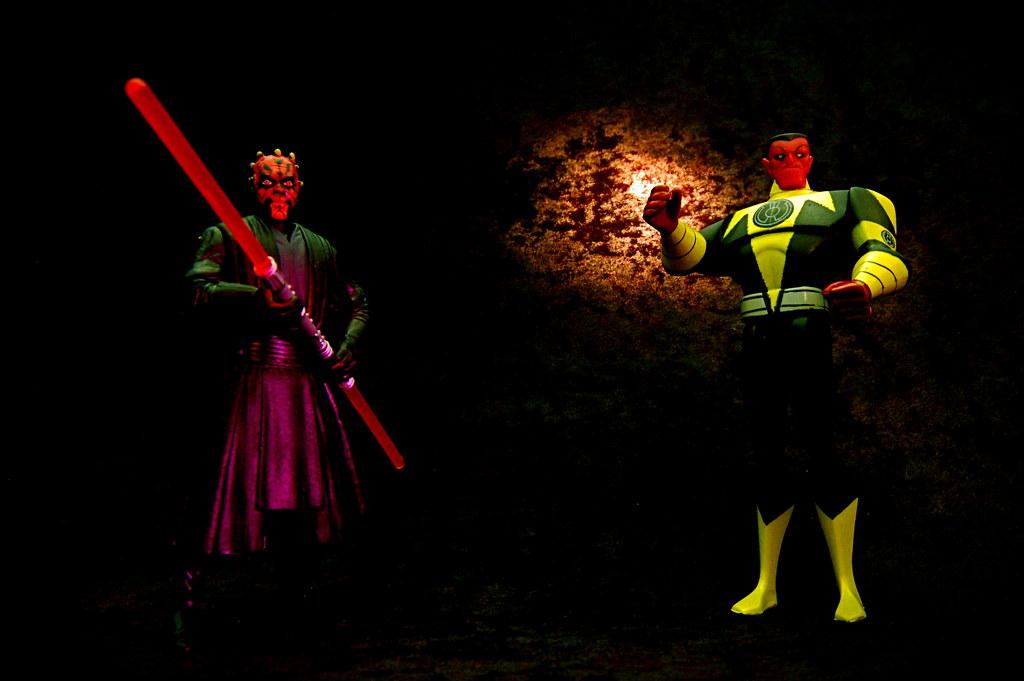 Darth Maul vs. Sinestro (206/365)