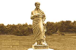 Macedonia,  Naousa, Aristotle's statue, Greece #Μacedonia