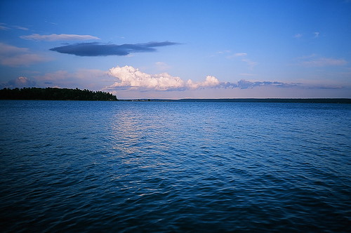 lake ontario canada film clouds river landscape islands colorful fuji olympus slidefilm greatlakes velvia xa 50 slides technicolor velvia50 stmarysriver horseisland stjosephisland richardslanding matthewsisland