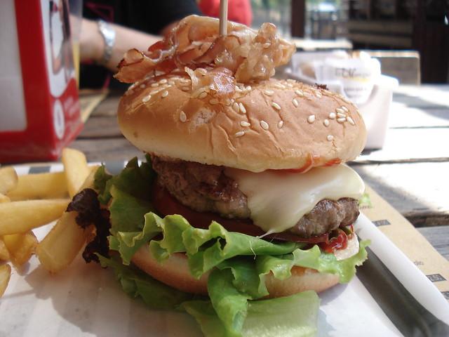Bacon Burger | Flickr - Photo Sharing!