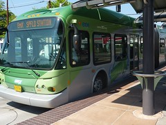 EmX bus rapid transit in Eugene