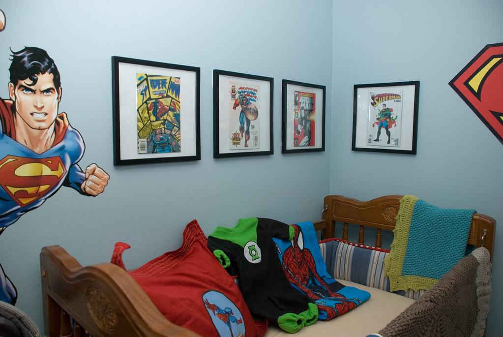 Superman Baby Room