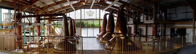Glenlivet Stillroom panorama