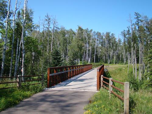 Bridge on Gitchi Gami Trail