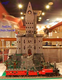 David's Hogwarts Castle - SydLUG BrickExpo 2010