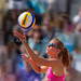Els Vandesteene. 2010 Knokke Belgian Beach Volley.