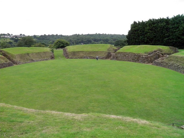 Amphitheatre, Caerleon