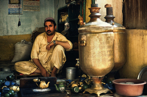 The Big Pot Tea Man of Peshawar