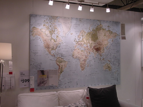 Ikea Premiar world map