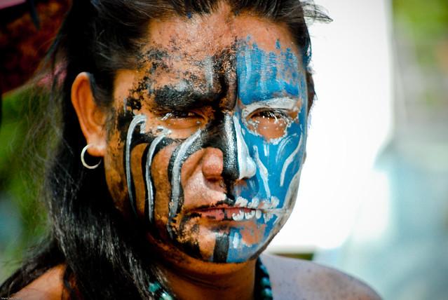 Mayan Face Paint