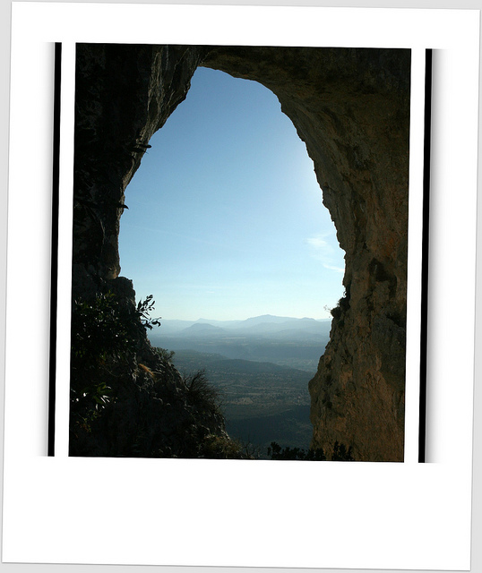 (window on Sardinia) ...the perforated stone