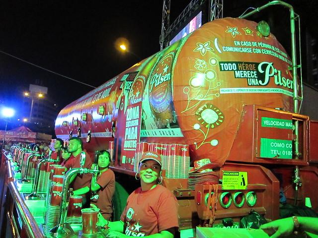Pilsen beer truck
