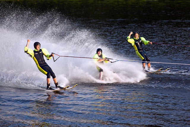 U.S. Water Ski Show Team - Scotia, NY - 10, Aug - 18