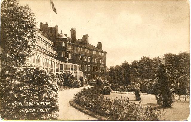Garden front burlington hotel owls road boscombe for The gardener burlington
