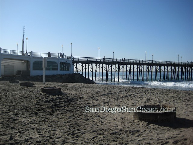 Oceanside Beach & fire pits   Flickr - Photo Sharing!