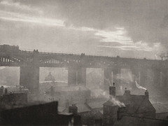 Northumberland, Newcastle 1925, by E.O. Hoppe
