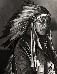 Chief White Horse Eagle, by E.O. Hoppe 1926