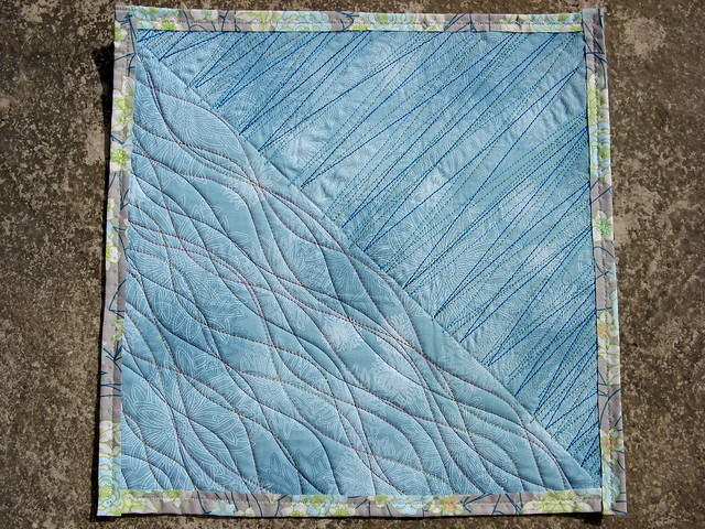 Quilting Patterns Using Walking Foot : Freestyle quilting with the walking foot Flickr - Photo Sharing!