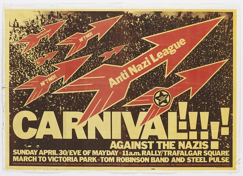 TM0577. Anti Nazi League Carnival against the Nazis 1978