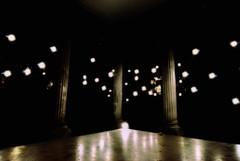 night stars under the roof