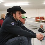 King at calf auction