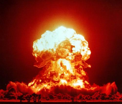 無料写真素材, 戦争, 武器・兵器, アップショット・ノットホール作戦, 原子爆弾, 爆発