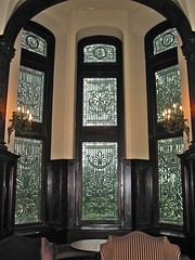 Grey Towers Castle (1893) – stained-glass tower windows