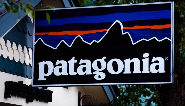 Patagonia Wood Sign