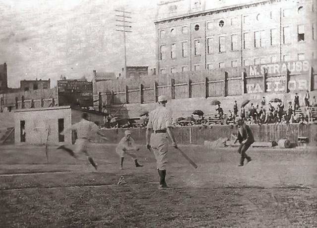 Game At League Park Cincinnati 1890's