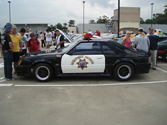 1983 Ford Mustang Police Interceptor coupe