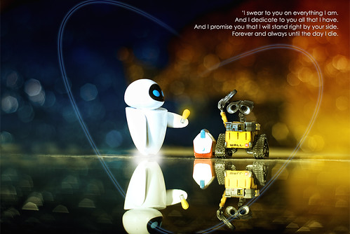 a valentine treat from wall e