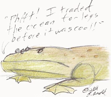 It's Hipster Tiktaalik!