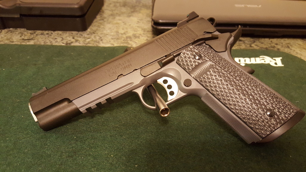 LW and RO Operator Trigger Pull - 1911Forum