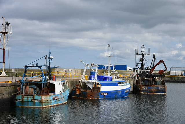 Fraserburgh Fishing Harbour Scotland 2017