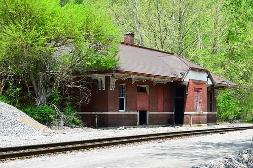 orolk & Western station - Norton, Virginia