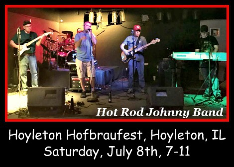 Hot Rod Johnny Band 7-8-17