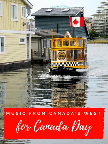 Music from Canada's West, for Canada Day