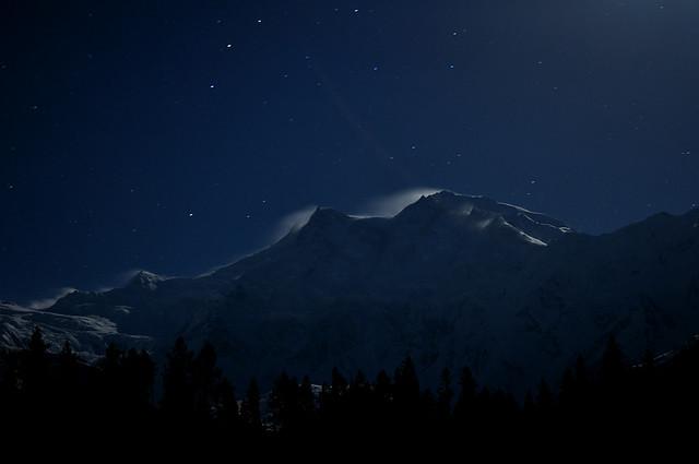 Nanga Parbat at midnight