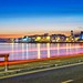 Salthill In Blue by CONOR LEDWITH