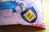 tooth fairy pillow - pink