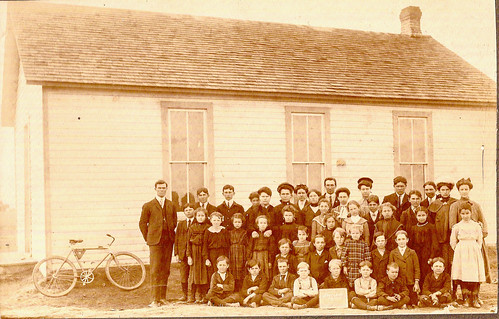 grandpa Bill Mcgill - Riverside school 1905 by NWOkie