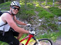 racing bicycle(0.0), duathlon(0.0), endurance sports(1.0), mountain bike(1.0), road bicycle(1.0), vehicle(1.0), mountain bike racing(1.0), sports(1.0), freeride(1.0), sports equipment(1.0), cycle sport(1.0), road cycling(1.0), adventure racing(1.0), extreme sport(1.0), cycling(1.0), mountain biking(1.0), bicycle(1.0),