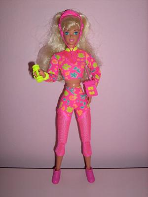 Aerobic Barbie